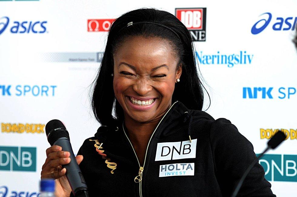 Ezinne Okparaebo kommer til EM med seier fra Diamond League-stevnet på Bislett, men hun vil ikke ha noe favorittstempel i EM.