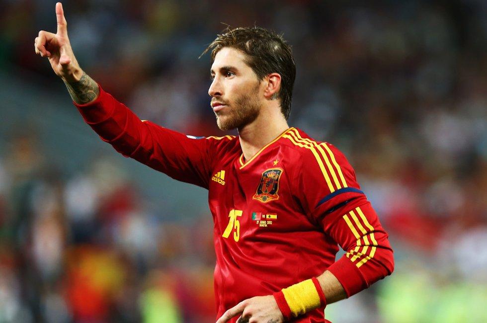 Sergio Ramos viste storhet da han scoret fra ellevemetersmerket mot Portugal.