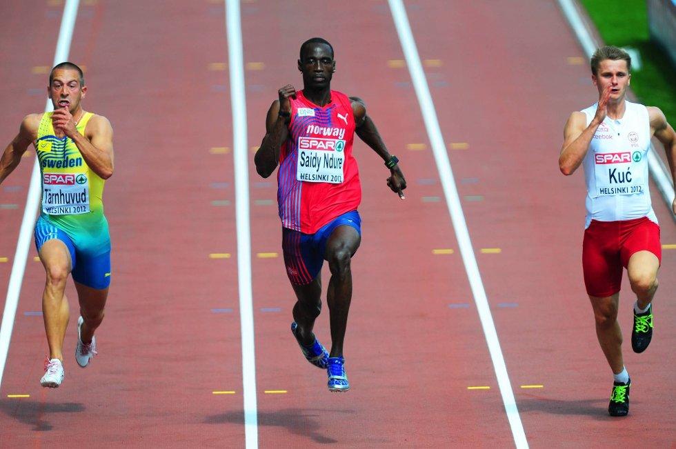 Jays sprintet seg greit til finalen på 100 meter.