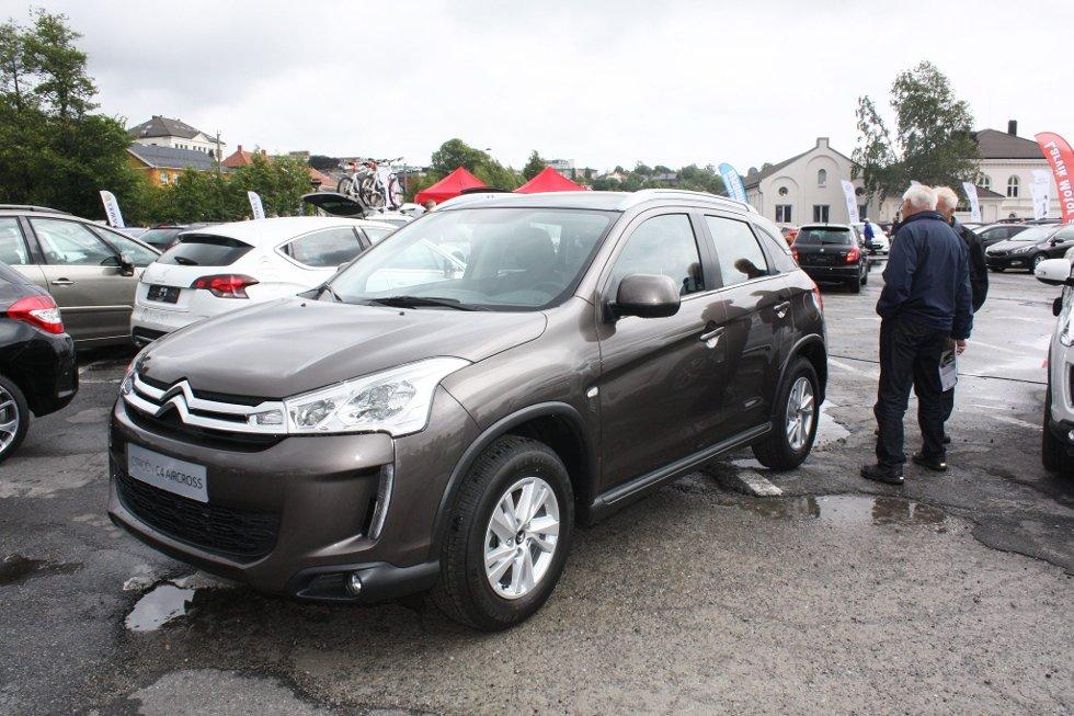 Fransk versjon: Solum Bil viste den nye crossoveren Citroën C4 Aircross på Sanden, en av to franske utgaver av Mitsubishi ASX.