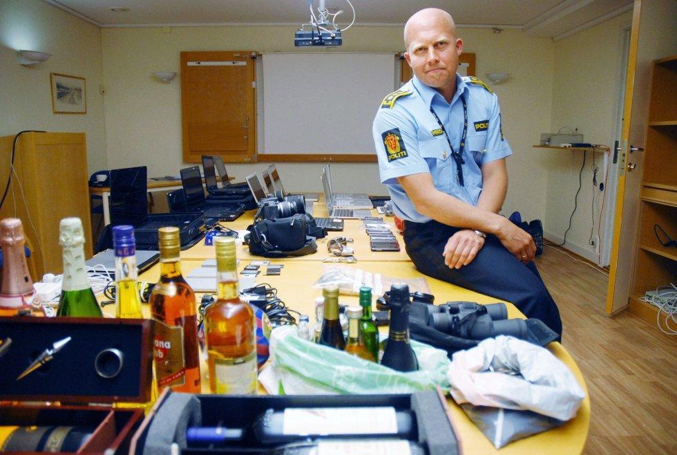 Flere saker: Leder av Grenseløs, Kjell Johan Abrahamsen, håper folk som har hatt innbrudd vil finne igjen noen av sine gjenstander, og at politiet dermed kan knytte banden til enda flere innbrudd.