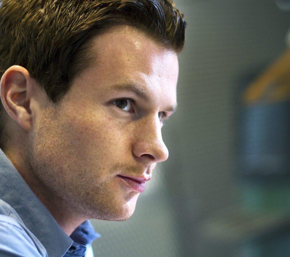 BEDRE RUSTET: Petter Vaagan Moen mener han går løs på den andre delen av sesongen som en annen spiller fysisk.