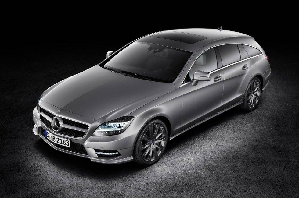 Se nøye på denne. Mercedes-Benz CLS Shooting Brake kan starte en ny trend.