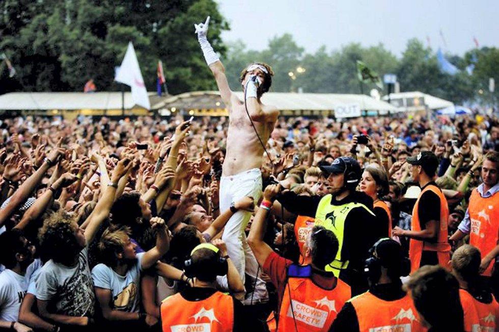En person funnet død på Roskilde-festivalen.