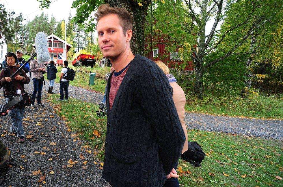 AUF skal samles flere ganger denne sommeren. Her leder Eskil Pedersen på Utøya.