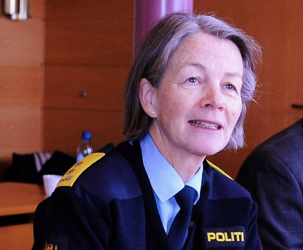 Politimester i Midtre Hålogaland politidistrikt, Elisabeth Kaas.