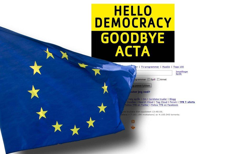 EU-parlamentet har avvist den omdiskuterte ACTA-avtalen.