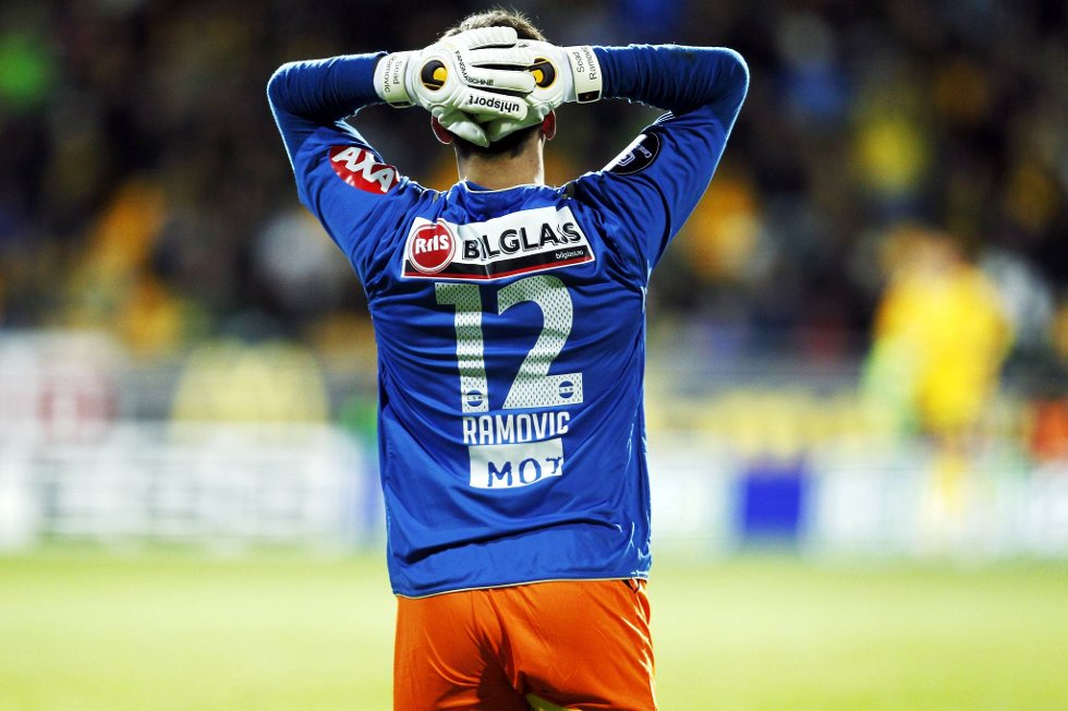 Lillestrøm-keeper Ramovic måtte plukke fire baller ut av målet i kveldens cupkamp mot Bodø-Glimt.