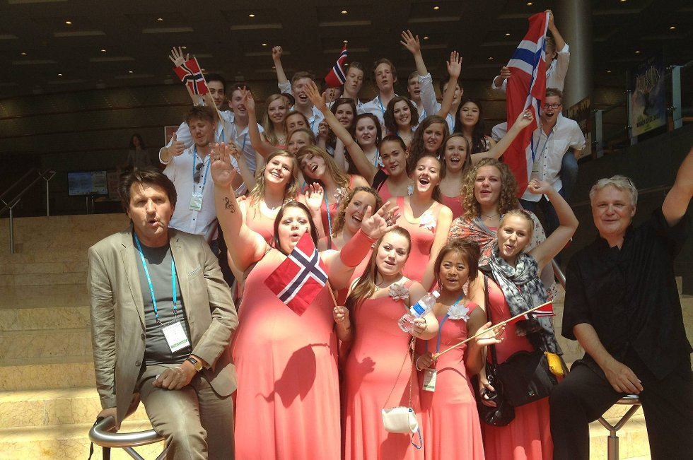 EDTChoir fra Hamar stakk denne helgen av med to gull i verdens største korkonkurranse, World Choir Games.