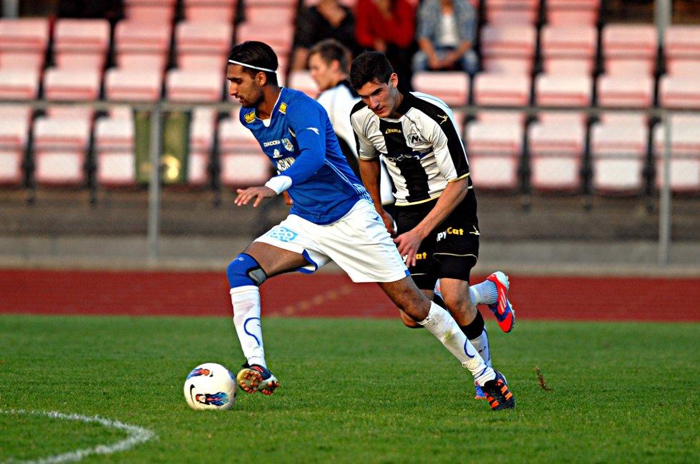 PÅ FEMTEPLASS: Abdullah Ashraf og Askim tar sommerferie på femteplass på tabellen i 3. divisjon.