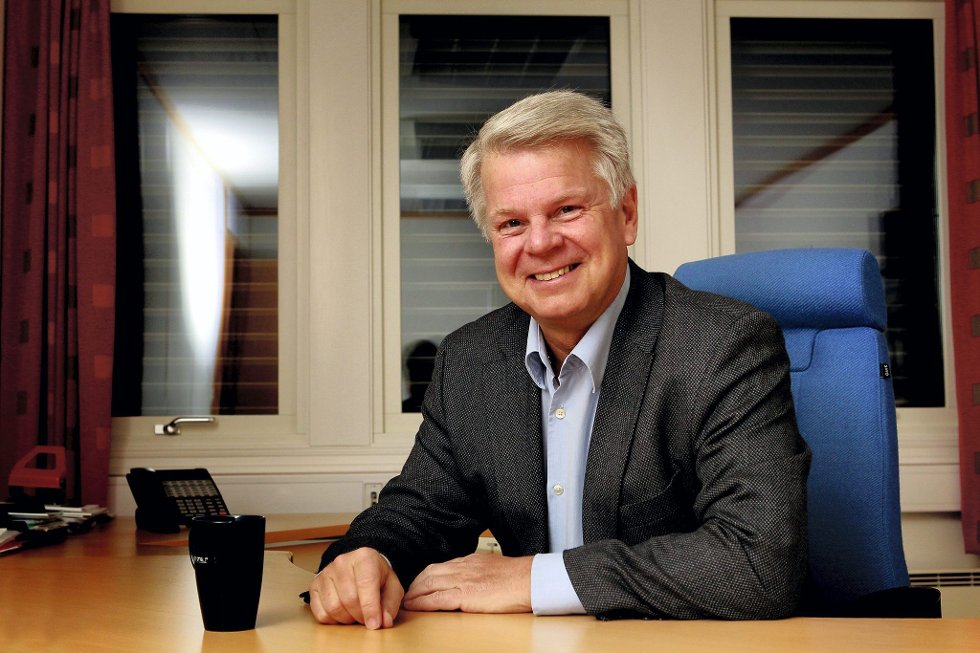 Tar grep: Tore Thorstensen varsler mer fokus på eiendommene til KB Gruppen i Kongsvinger. Foto: Ole-Johnny Myhrvold (arkiv)