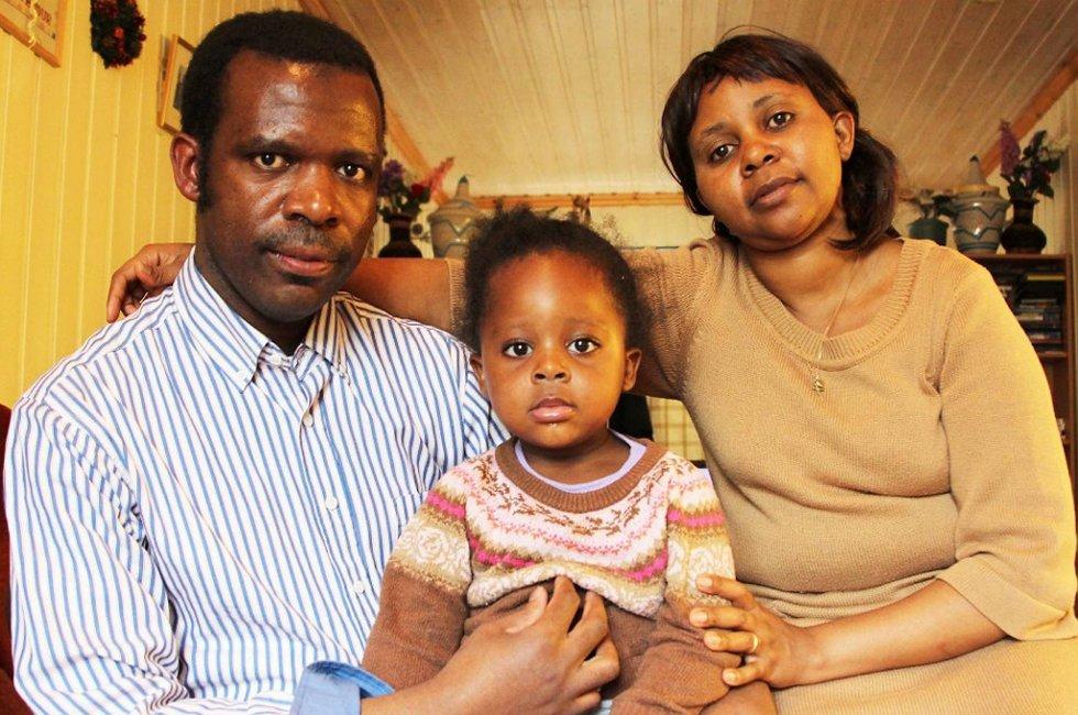 Daniel Habineza og Marie Grace Mukasharangabo har vært på over ti visninger uten å få napp.