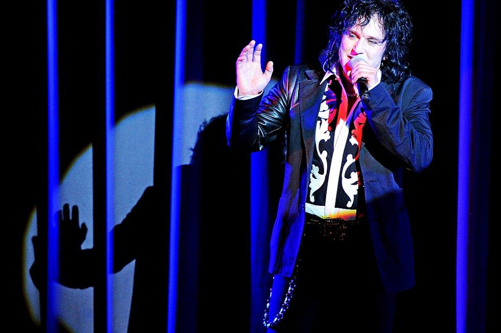 Åge Sten Nilsen sto for produksjon av showet. (Foto: Mats Duan                                )