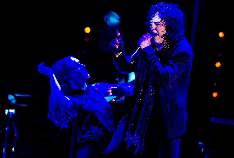 Åge Sten Nilsen sto for produksjonen og fremførte to av Michael Jacksons låter (Foto: Mats Duan)