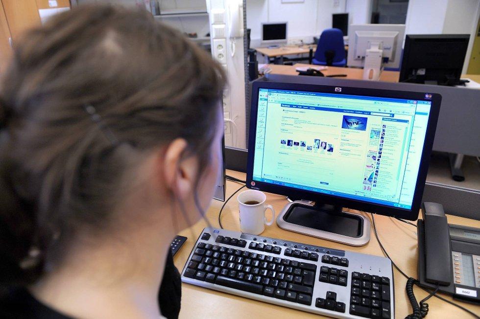 Seks av ti bedrifter benytter sosiale medier ved rekruttering.