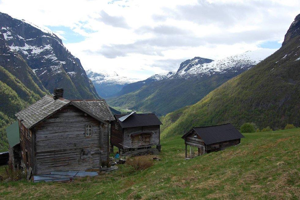 Ormelid i Luster er en fredet gård.
