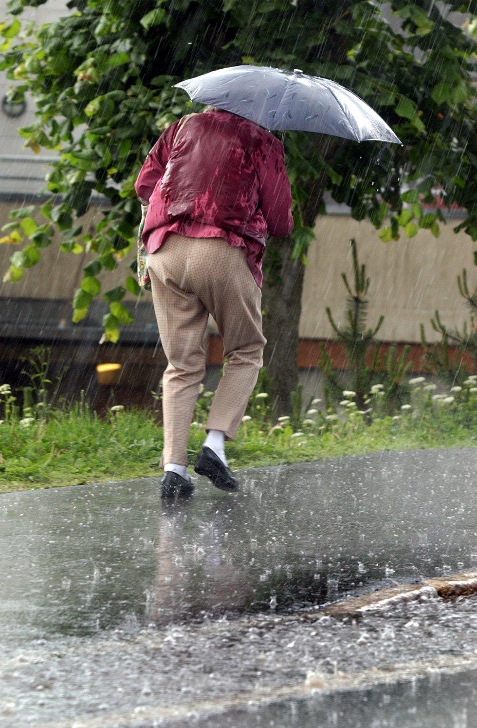 Regn og atter regn. Værmeldingen er ikke lovende.