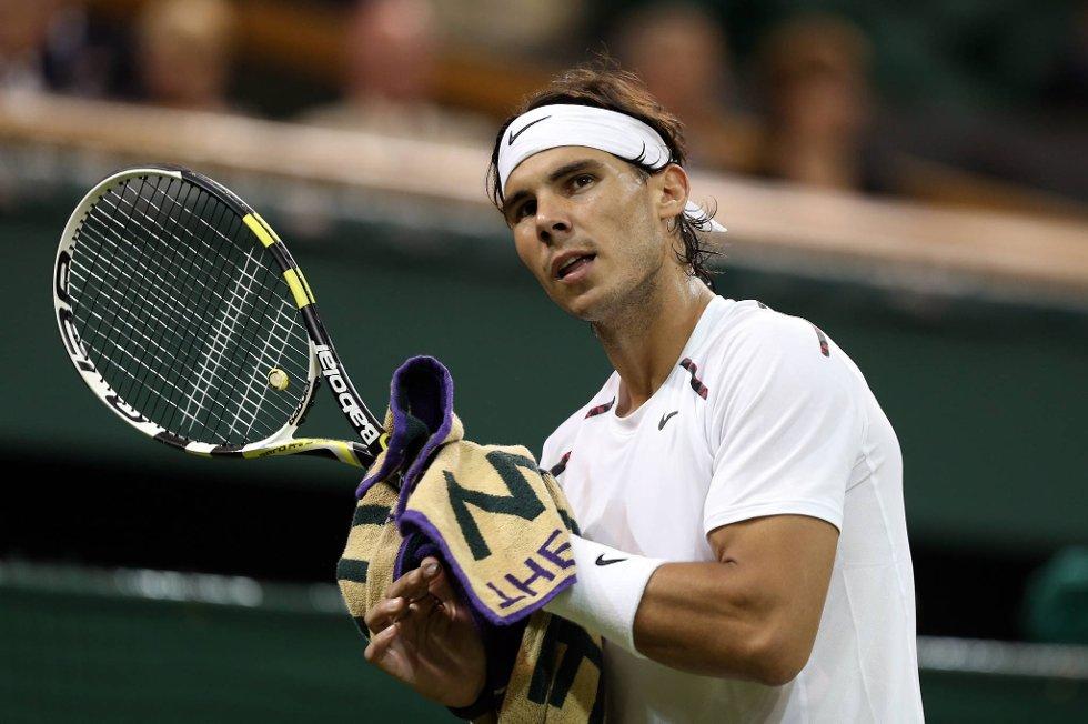 Rafael Nadal kan ikke delta i London-OL.
