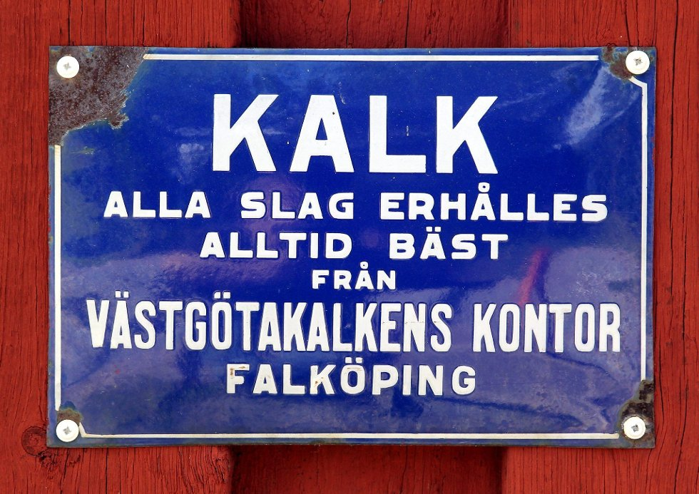 Gammelvala i Brunskog 2012. Salgsskilt. Foto: FREDE Y. ERIKSEN *** Local Caption *** Foto: Frede Y. Eriksen (Foto: )