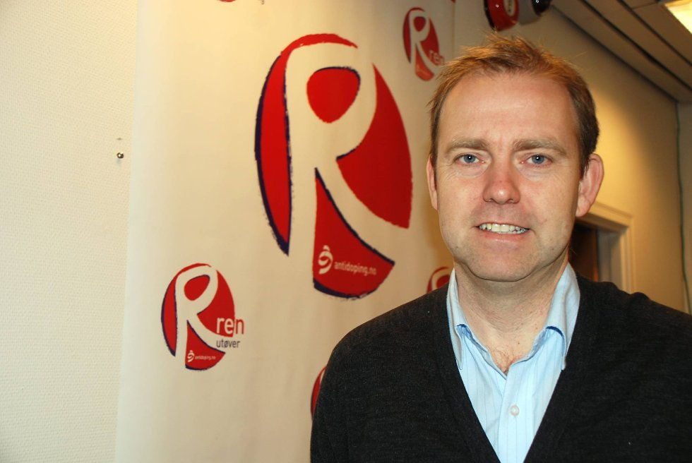 Leder i Antidoping Norge, Anders Solheim.