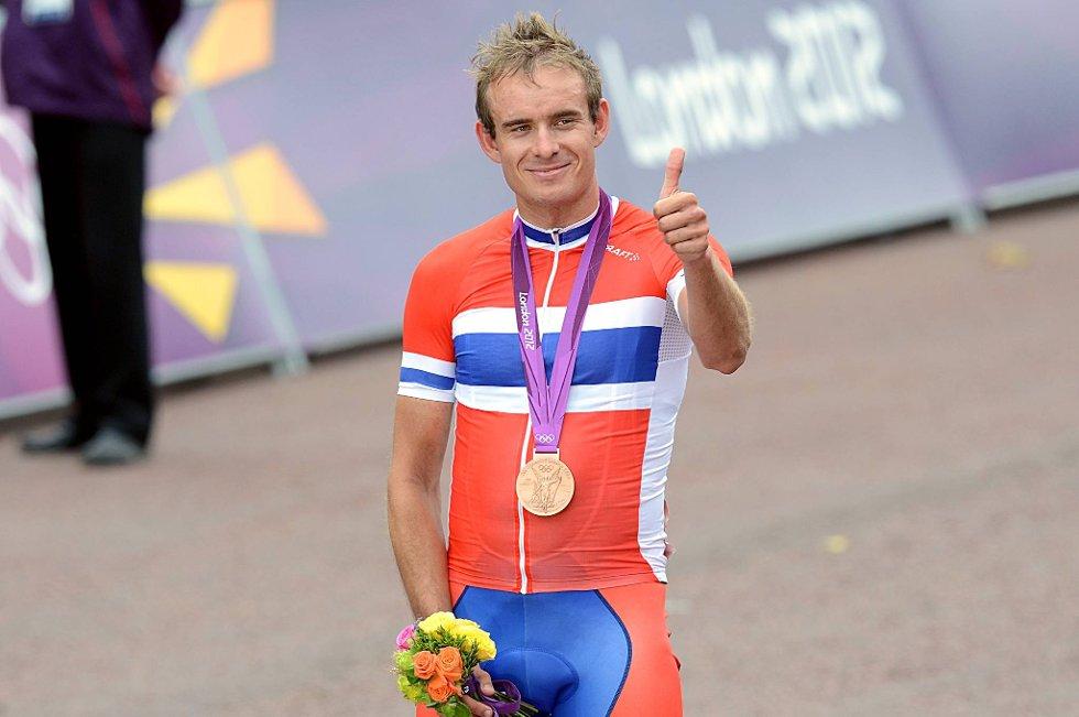 Alexander Kristoff tok Norges første medalje i London-OL.