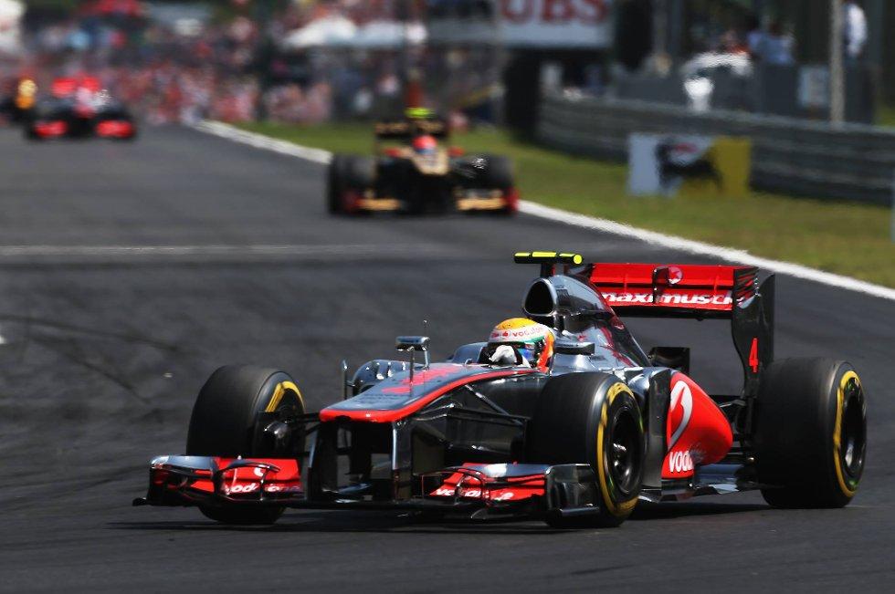 Lewis Hamilton var noen hår kvassere enn resten av konkurrentene i Ungarn.
