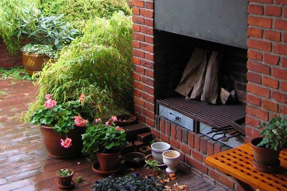 En utepeis er den beste terrassevarmeren dersom du er ute etter en permanent, og estetisk, løsning.