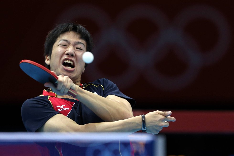 Kom ikke her og si at bordtennis er lett!  (Foto: Feng Li, Getty Images/All Over Press/ANB)