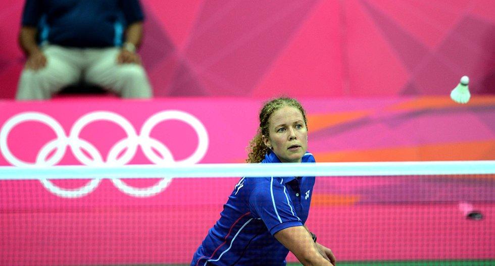 Sara Kværnø i full konsentrasjon i OL. (Foto: Vidar Ruud, ANB)