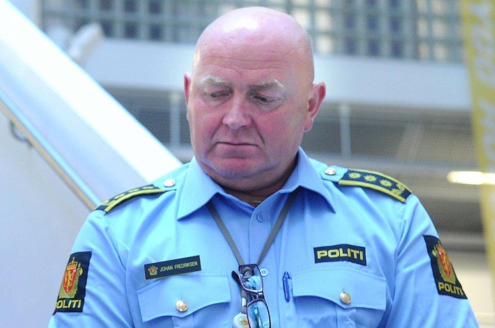 Jeg føler at dette fungerte godt etter planene, sier stabssjef Johan Fredriksen i Oslo politidistrikt.