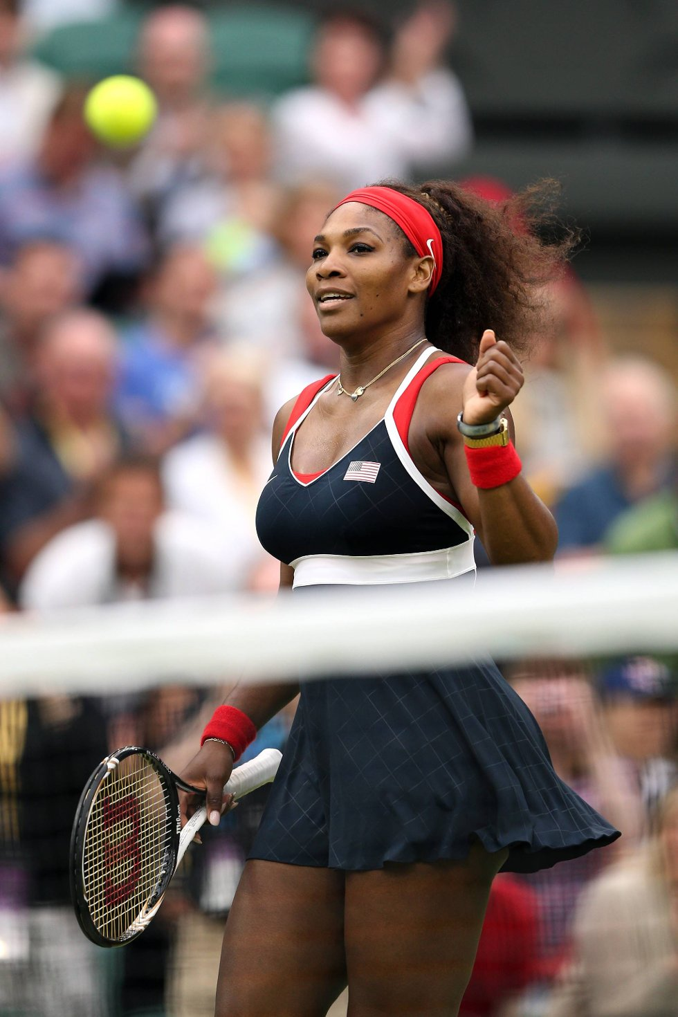 Serena Williams har toppet formen til OL, og har full kontroll på ballen. (Foto: Clive Brunskill, Getty Images/All Over Press/ANB)