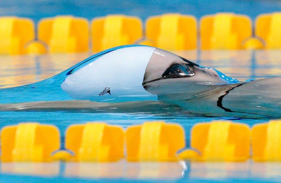 Belinda Hocking i vannskorpa. (Foto: Adam Pretty, Getty Images/All Over Press/ANB)