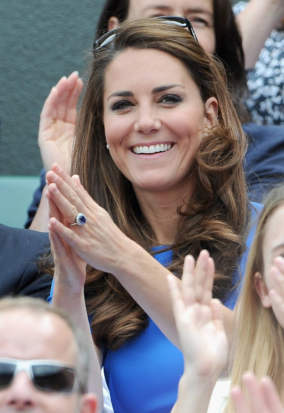 Hertuginnen Kate smiler fortsatt... (Foto: Pascal Le Segretain, Getty Images/All Over Press/ANB)