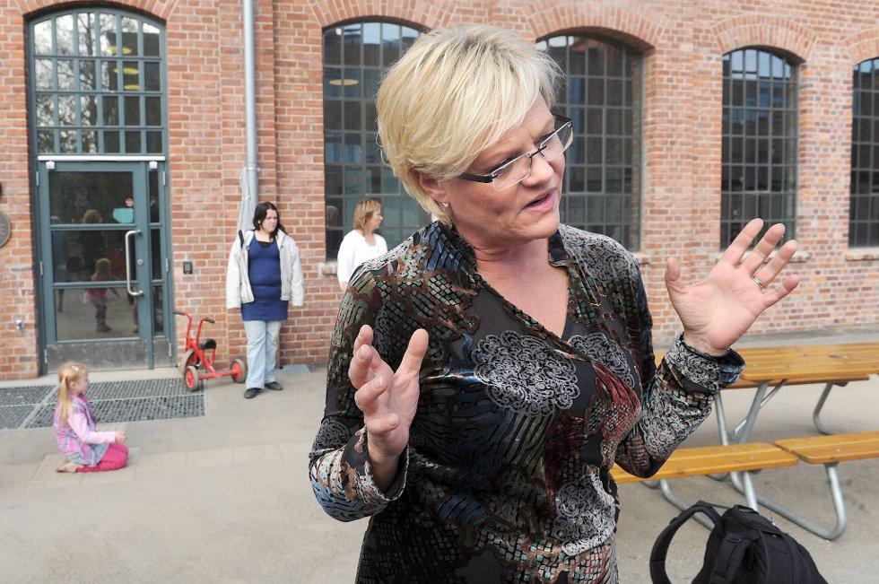 Kristin Halvorsen foreslår at SVs landsmøte til våren programfester 2.000 nye studenthybler i snitt hvert år, mot om lag 1.000 i dag.