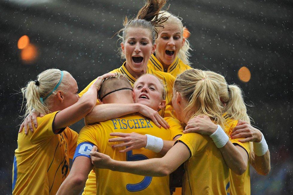 Våre svenske naboer har stor suksess i kvinne-fotball - en gren Norge ikke en gang klarte å kvalifisere seg til. (Foto: Francis Bompard, Getty Images/All Over Press/ANB)