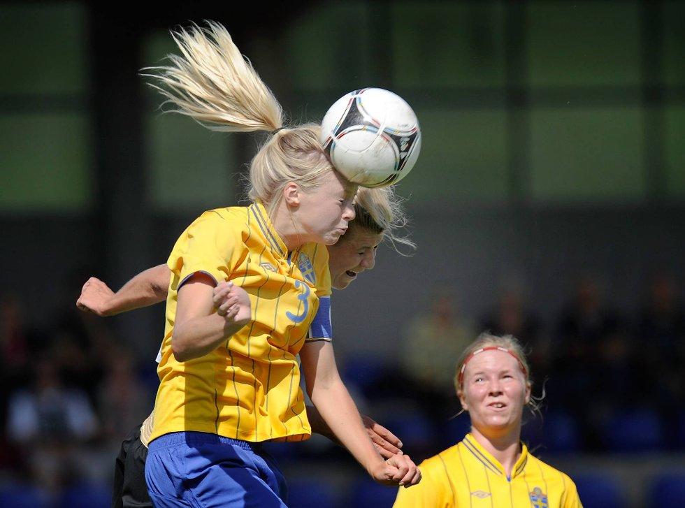 Tja, syns svenske Amanda Ilestedt ser litt bleik ut... (Foto: Thorsten Wagner, Getty Images/All Over Press/ANB)