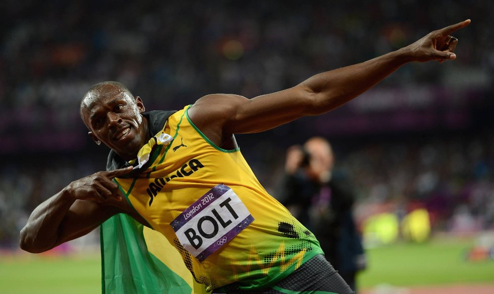 Fly som en pil, og det gjør jammen Usain Bolt også. (Foto: Julia Vynokurova, Getty Images/All Over Press/ANB)