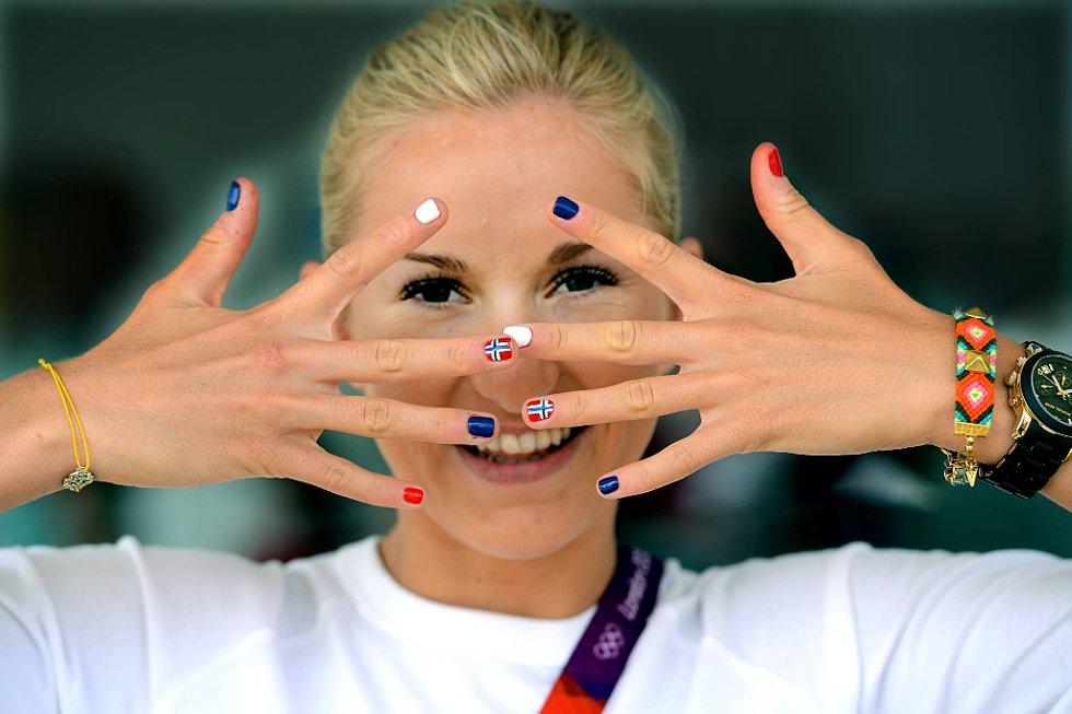 Forhåpentlig biter ikke Karoline Bjerkeli Grøvdal negler foran OL-debuten. (Foto: Vidar Ruud, ANB)