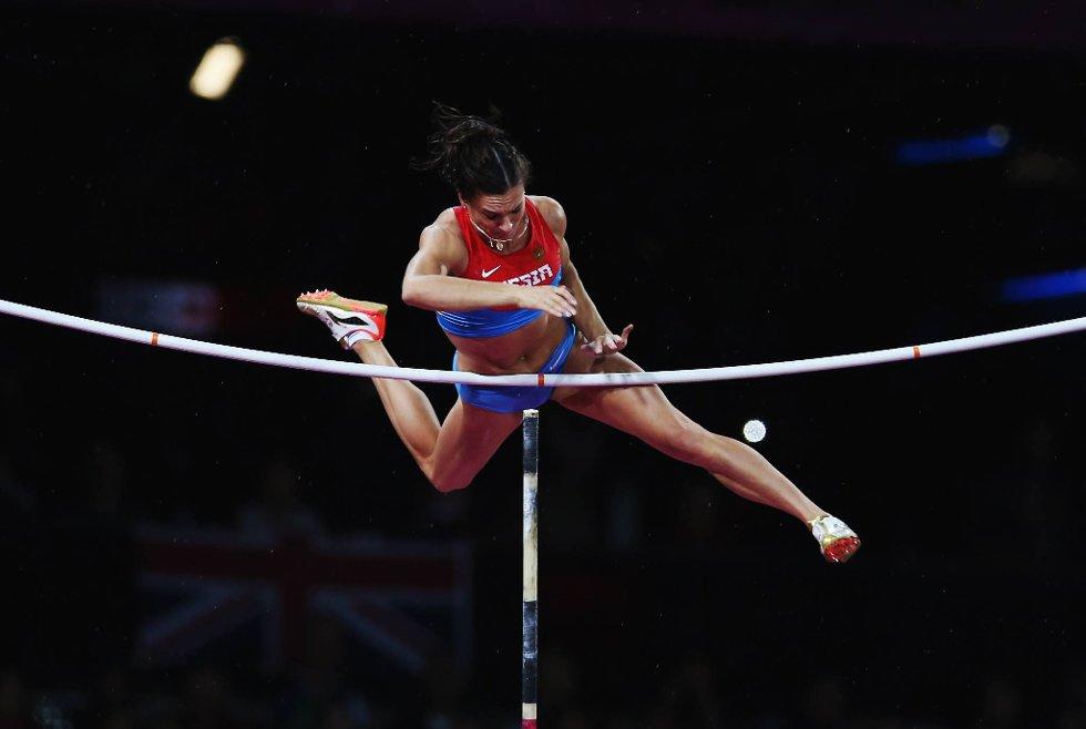 OL ble en solid nedtur for Elena Isinbajeva, og den russiske favoritten endte kun opp med bronse. (Foto: Hannah Johnston, Getty Images/All Over Press/ANB)