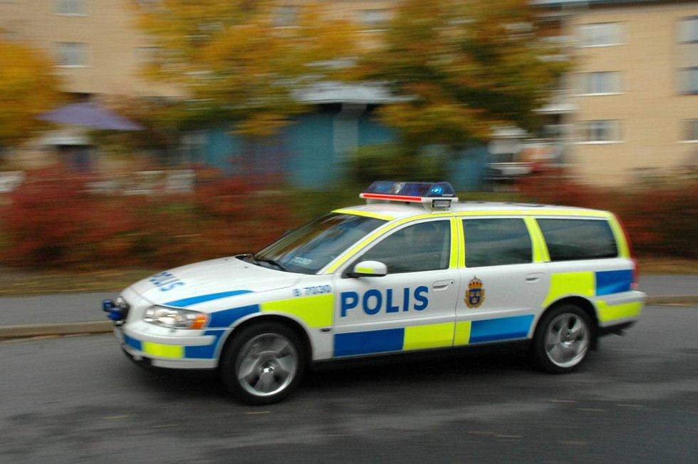 Politiet rykket ut til Töcksfors klokka halv ni tirsdag morgen da de ansette i Westra Wermlands Sparbank utløste ransalarmen.
