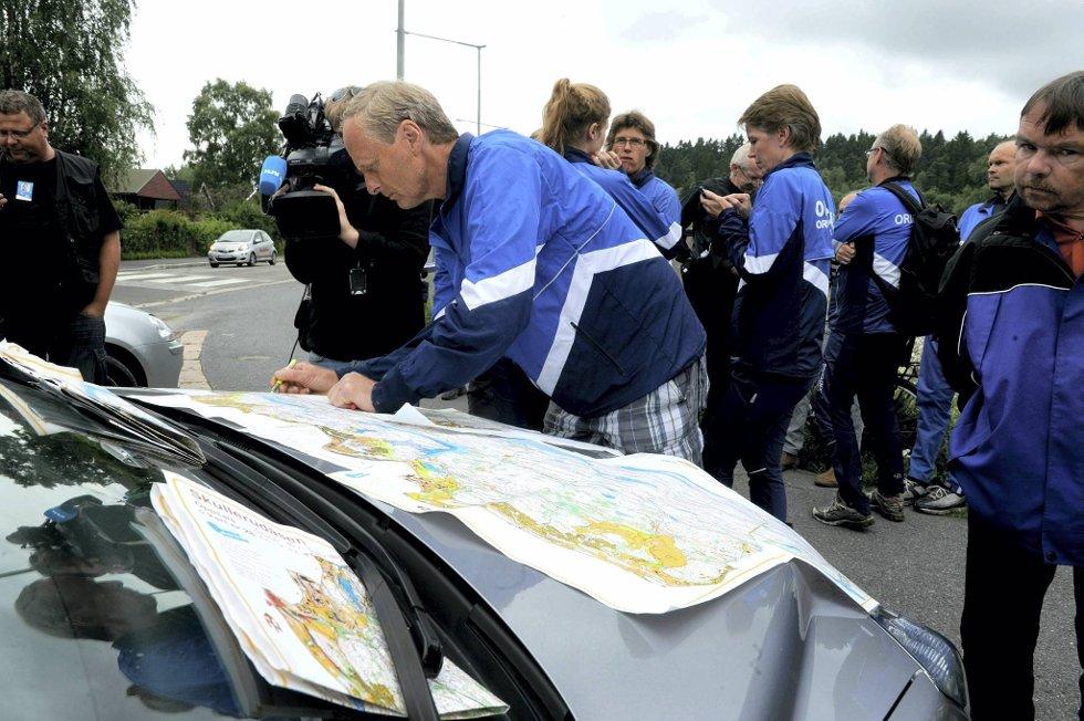 Mange frivillige leter etter Sigrid Giskegjerde Schjetne (16).