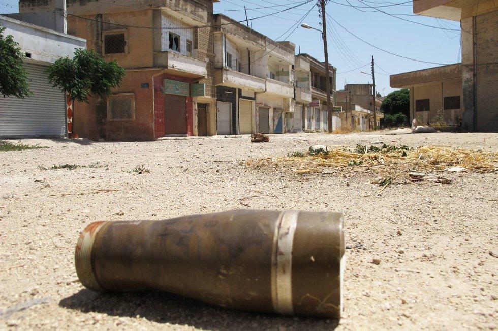 Amnesty er dypt bekymret for en økt bruk av tunge våpen i bebodde områder i Syrias 17 måneder lange konflikt.