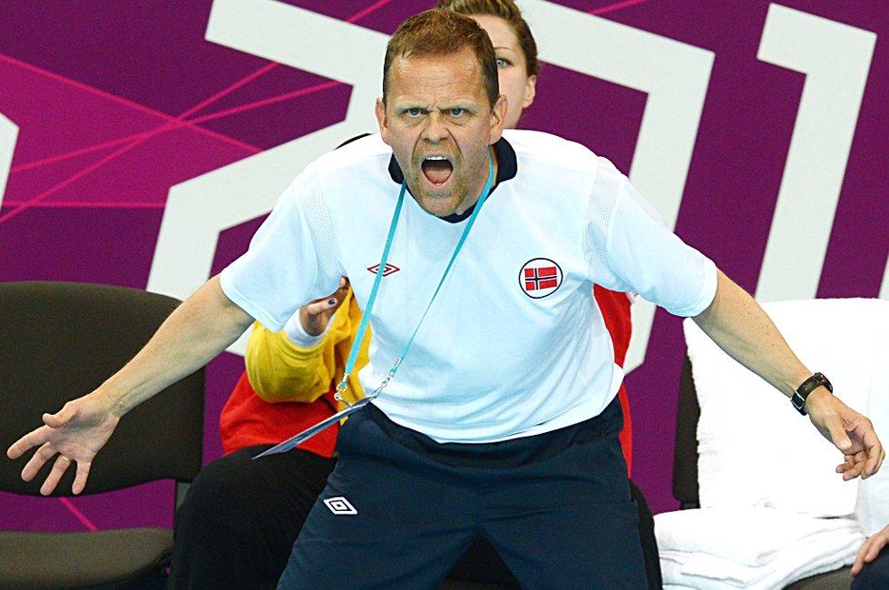 Thorir Hergeirsson kan ta sin tredje tittel av fire mulige som norsk landslagstrener. (Foto: Vidar Ruud, ANB)