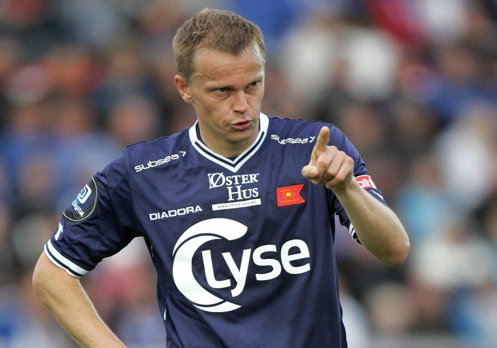 Erik Nevland klarte ikke å notere seg for scoring på Viking stadion.