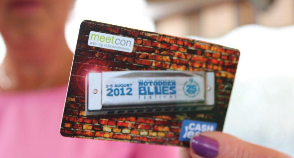 KORTET: Baksiden av Cashless-kortet har informasjon om hvordan du får tilbake restbeløpet. Denne informasjonen er også på nettsidene til kortprodusenten og arrangørene som bruker systemet.