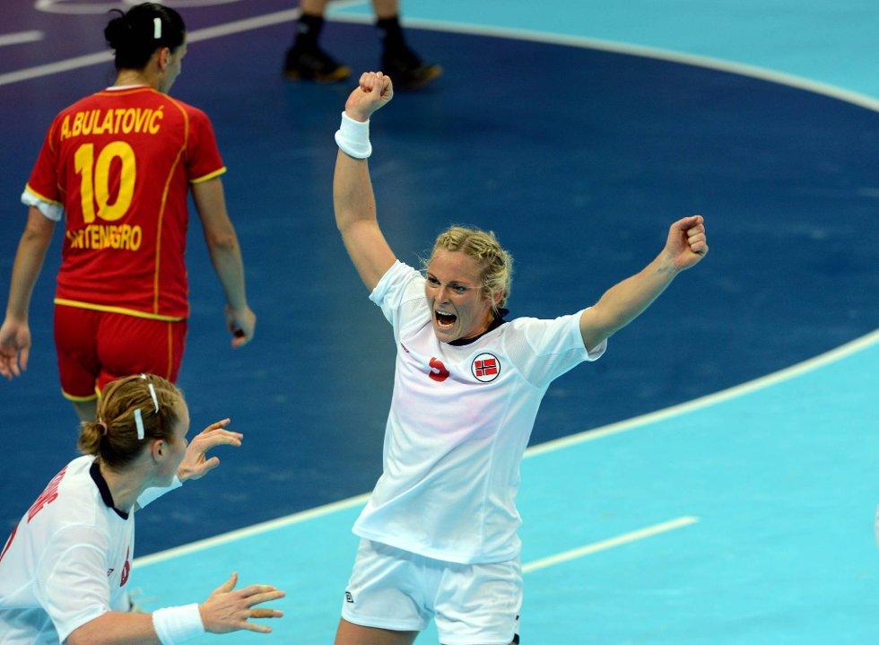 Ida Alstad har scoret mot Montenegro. (Foto: Vidar Ruud, ANB)