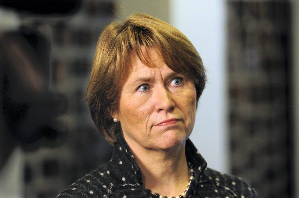 Justisminister Grete Faremo.