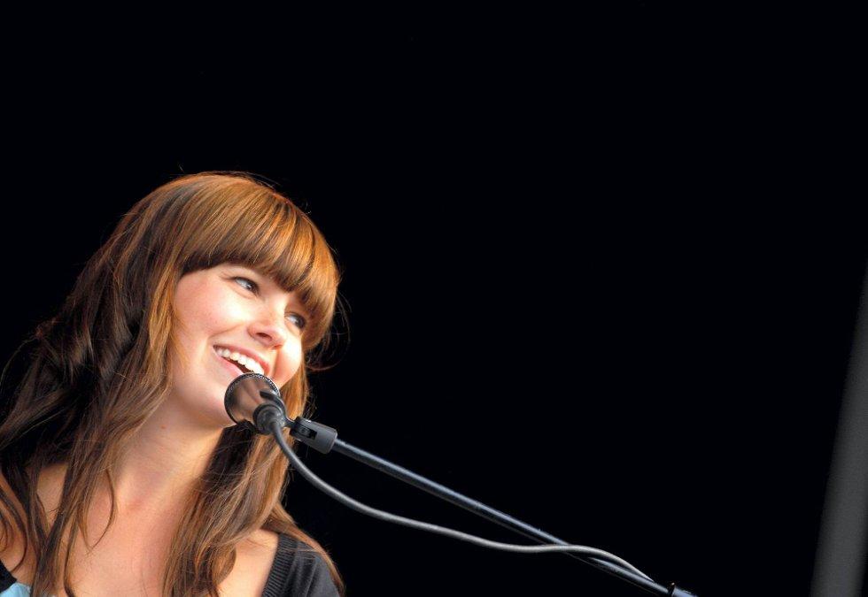 TIL GLENG: Marit Larsen er klar for konsert i Glenghuset. (Foto: Steinar Schjetne, ANB)