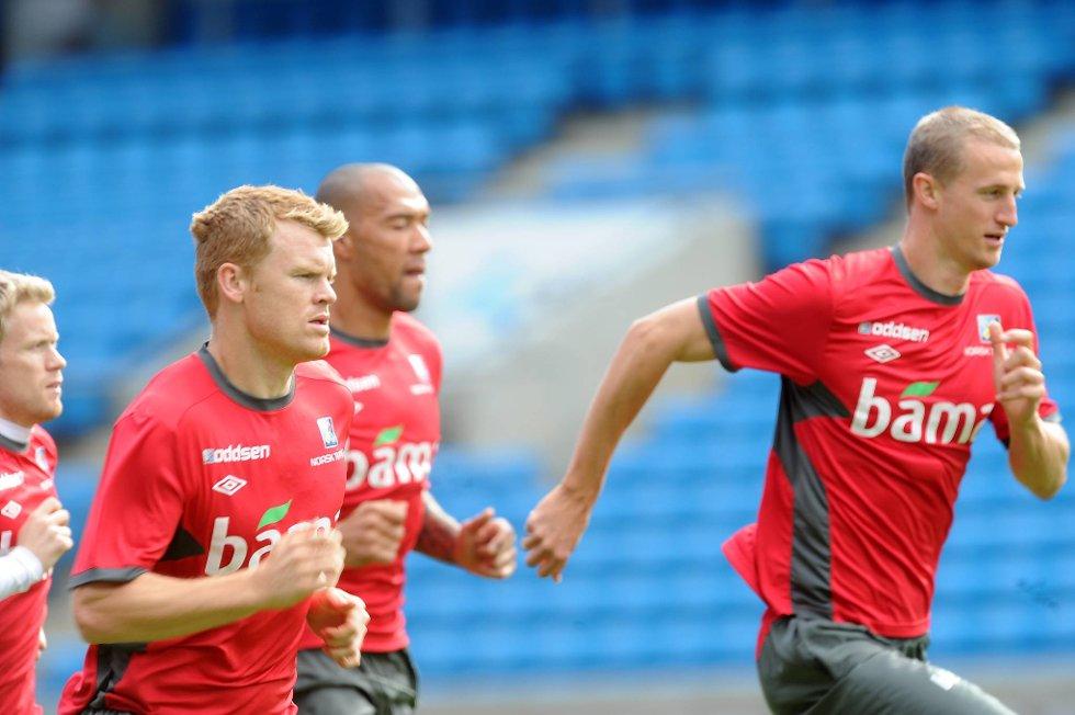 Brede Hangeland og John Arne Riise håper at Fulham ender på øvre saken.