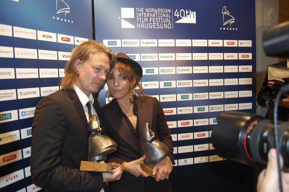 Kristoffer Joner og Noomi Rapace vant beste mannlige og kvinnelige skuespiller.